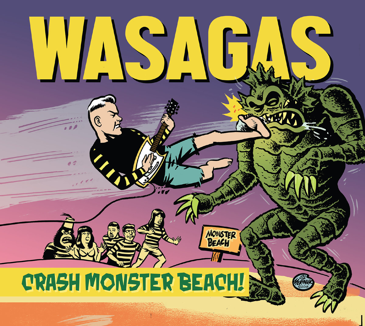 Wasagas Crash Monster Beach
